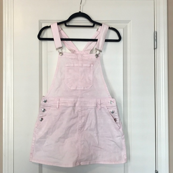 91c2da121d Forever 21 Other - Forever 21 pink overall skirt, size 27 worn once